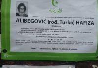 ALIBEGOVIĆ ( ROĐ. TURKO ) HAFIZA