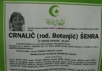 Crnalić (rođ. Botonjić) Šehra
