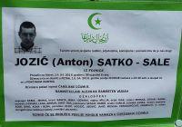 JOZIĆ ( ANTON ) SATKO - SALE