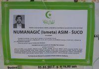 NUMANAGIĆ ( ISMETA ) ASIM - ŠUCO
