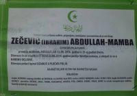 ZEČEVIĆ  ( IBRAHIM ) ABDULLAH - MAMBA