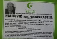 Halilović (rođ. Pobrić) Kadrija