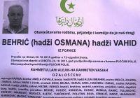Behrić (hadži Osmana) hadži Vahid